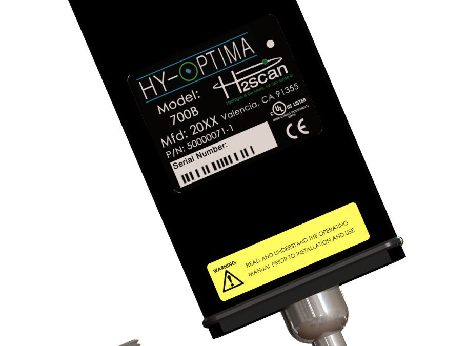 Mesure H2 en ligne pour process en zone sûre HY-OPTIMA 700B